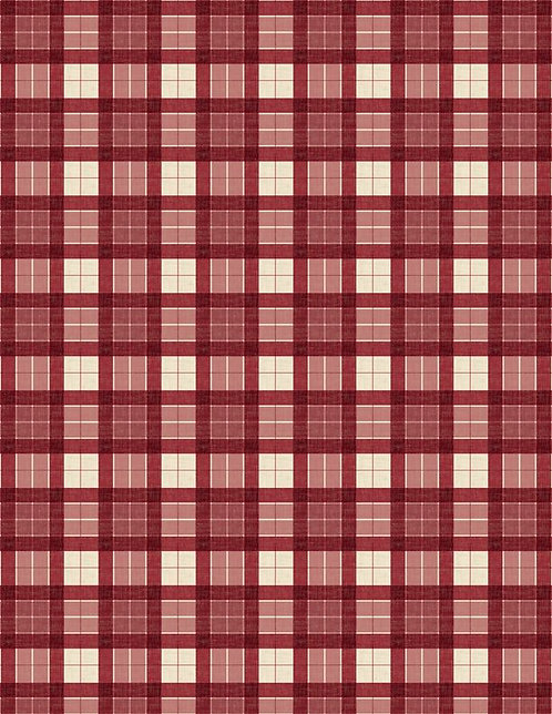 Evergreen Farm by Susan Winget - Plaid Red  39650-323