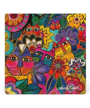 Laurel Burch Coasters by Monarque - Laurels Garden