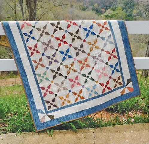 Kitty Cornered Chain Quilt Pattern
