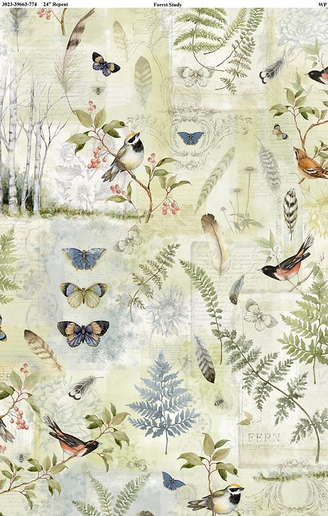 Forest Study by Susan Winget - Wilmington - Green Sampler 39663-774