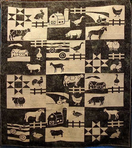 Farms and Fences Quilt Kit