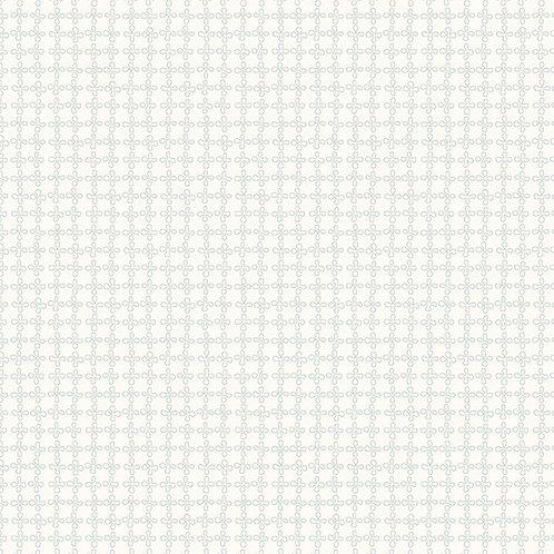 Cloud Whites - Flower - Grey/White