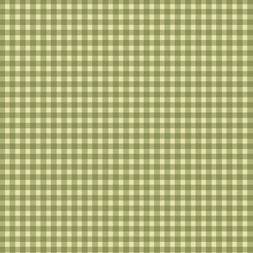 Welcome Home Flannel - Sage Gingham