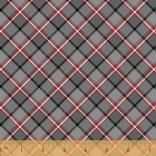 London - Plaid by Windham Fabrics - Grey 52345-4