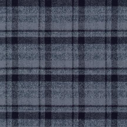 Mammoth Flannel by Robert Kaufman Fabrics - 13927-12 Grey