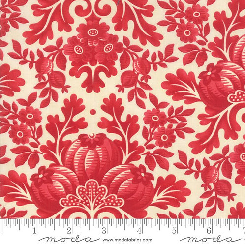 Cinnaberry by 3 sisters for Moda - Vanilla/Cranberry - 544200-11