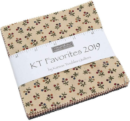 Kansas Troubles Favourites 2019 Charm Pack