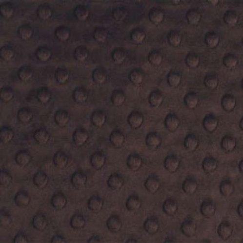 Dimple Cuddle - Shannon Fabric - Chocolate - SFDIMPCH
