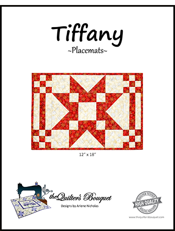 Tiffany Placemats Pattern by Quilter's Bouquet