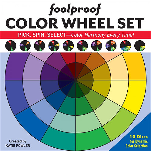 Foolproof Color Wheel Set - by Katie Fowler (includes 10 discs)