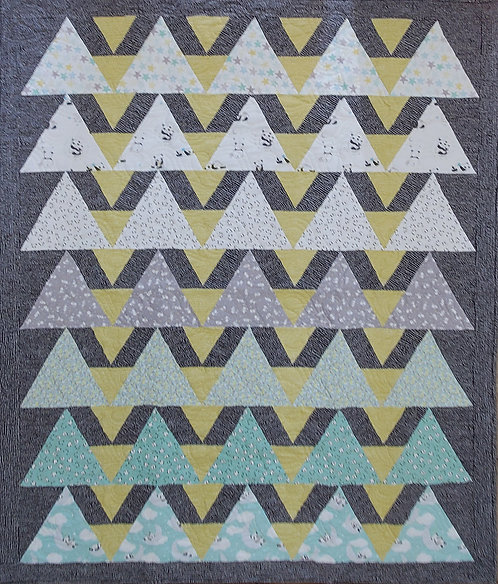 Alligator Alley Quilt Kit