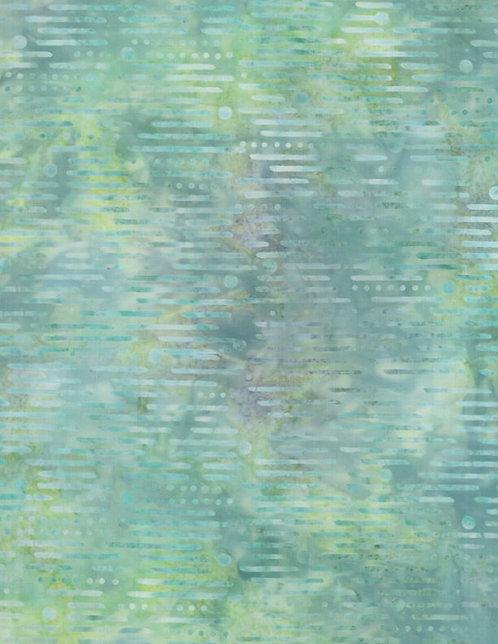 Batavian Batiks by Wilmington Batiks - Spring Luna - Green 22167-779