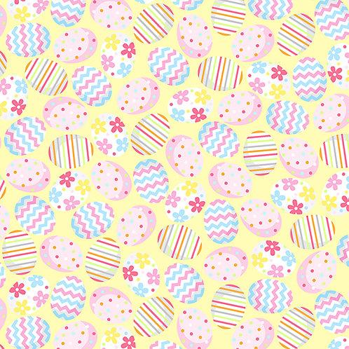 Hippity Hoppity - Benartex - Eggs-Stra Special Yellow - 19762-03