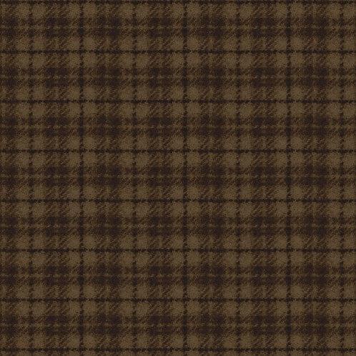 Woolies Flannel - Plaid - Brown