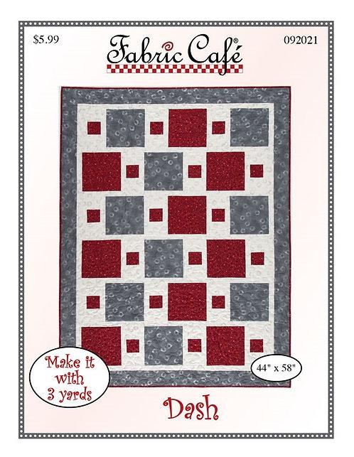 Fabric Cafe Pattern - Dash - 092021