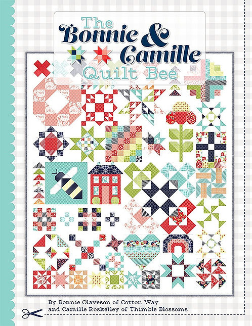Bonnie & Camille Quilt Bee Pattern Book - ISE-940