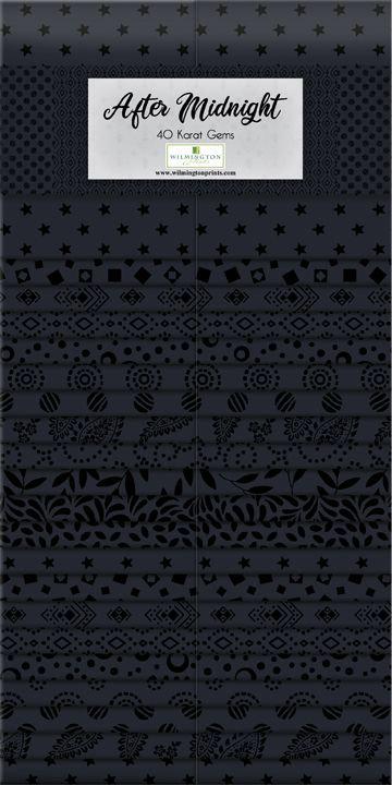 """40 Karat Essentials Gems 40pc - After Midnight 2.5"""" Strips x 40 pc"""