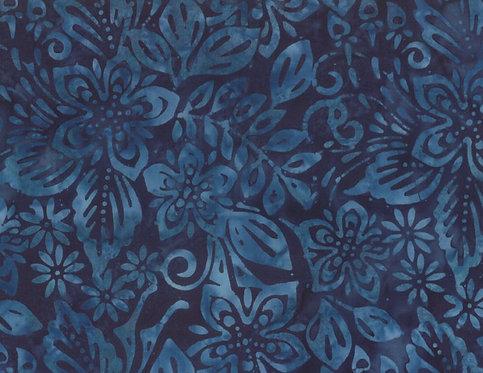 Batavian Batiks by Wilmington Batiks - Spring Luna - Blue 22177-449
