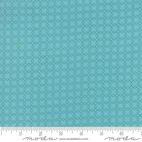 Bloomington by Lella Boutique for Moda - Squares - Teal 5115-16