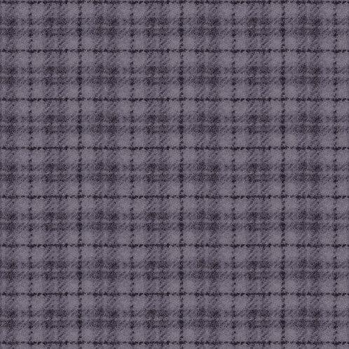 Woolies Flannel - Plaid - Dusty Purple