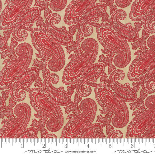 Cinnaberry by 3 sisters for Moda - Almond/Cranberry - 544204-22