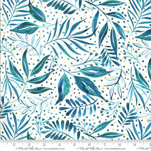Moody Bloom by Create Joy Project for Moda - Teal 58445D-14