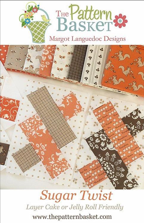 Sugar Twist Quilt Pattern by Margot Languedoc of The Pattern Basket