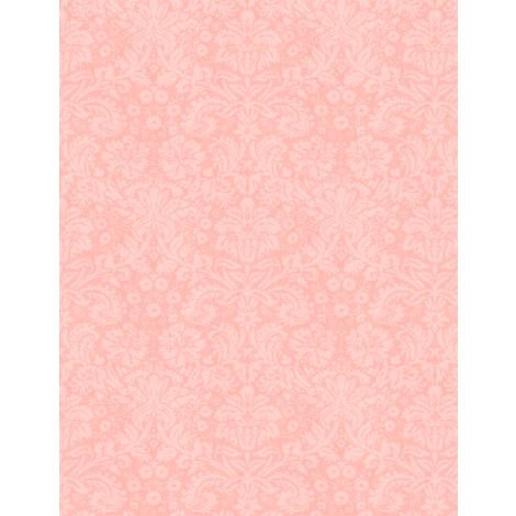 Flower Study by Machael Davis for Wilmington - Peach Backround 96461-338