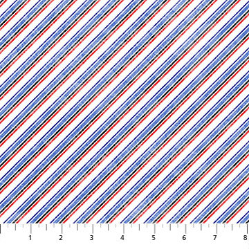 Power Play by Northcott - Diagonal Stripe 23626-10