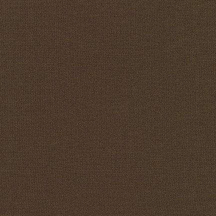 Kona Cotton Solids - Chocolate