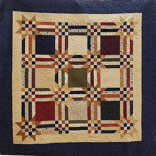 Crossroads Road Flannel Quilt Kit