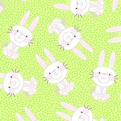 Hippity Hoppity - Benartex - Bunny Hop Green - 19759-04