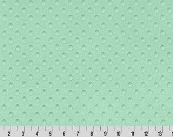 Dimple Cuddle - Shannon Fabric - Mint - SFDIMPMIN