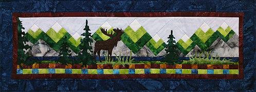 "Moose Lake Laser Cut Kit - by Northern Threads - 14.5"" X 41.5"""