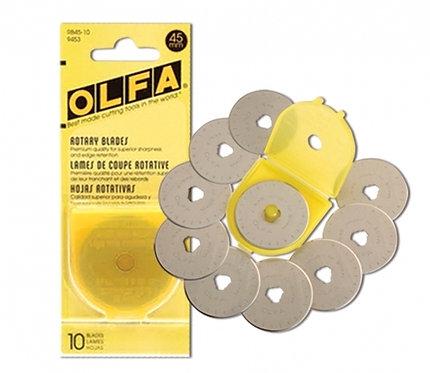 OLFA 45mm Rotary Blades (10 pack)