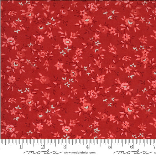 Roselyn by Minick & Simpson for Moda - Cranberry 514912-14