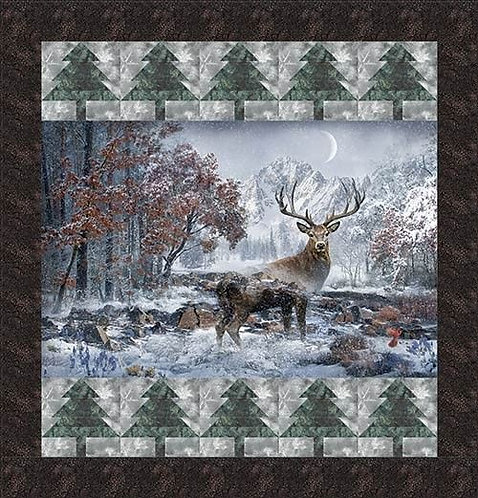 Mountain Stag Quilt Kit
