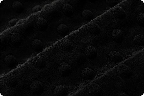 Dimple Cuddle - Shannon Fabric - Black - SFDIMPBL
