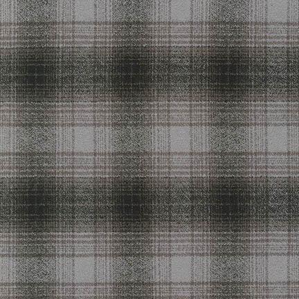 Mammoth Flannel by Robert Kaufman Fabrics - 15596-12 Grey