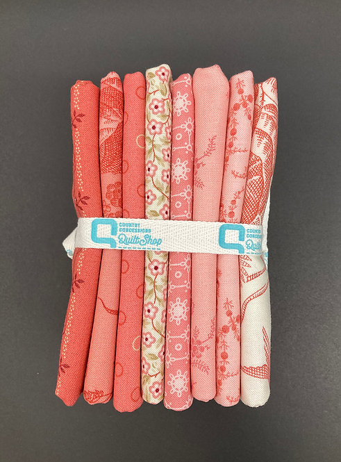 Braveheart#3 Fat 1/4 Bundle - (Medium) Pinks 8pc