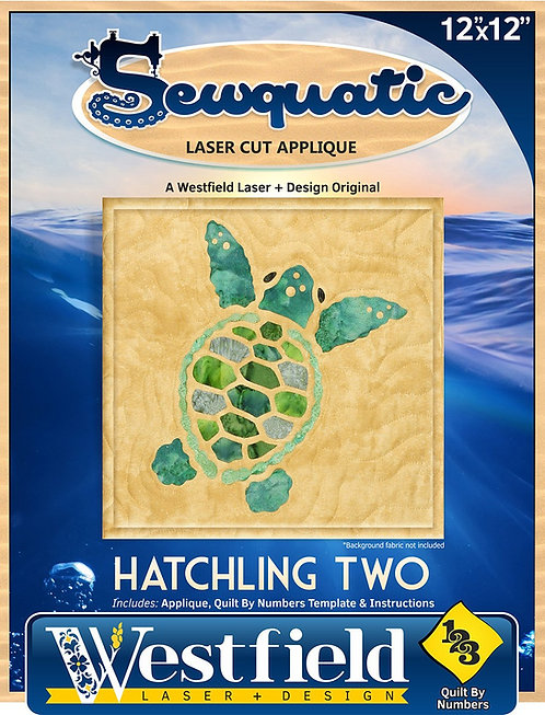 Hatchling 2 Laser Cut Applique Kit