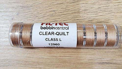 Fil-Tec Clear Quilt 10pk Bobbins - Light Tan
