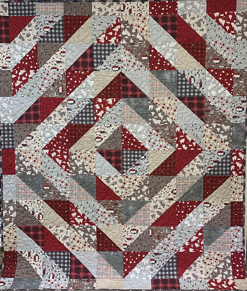 """Drayton Hall Quilt Kit - 63"""" x 77"""" Binding NOT Included"""
