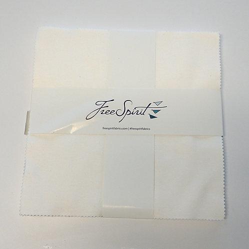 Designer Essentials Solids Layer Cake - Arctic White