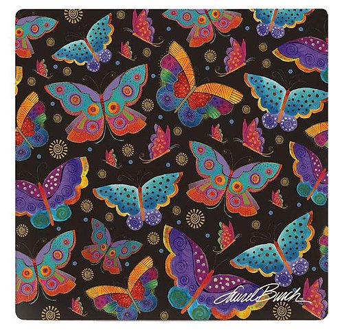 Laurel Burch Coasters by Monarque - Mariposas