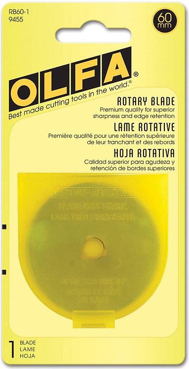 OLFA 60mm Rotary Blade (single)