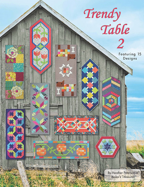 The Trendy Table 2 - by Heather Peterson of Anka's Treasures - ANK327