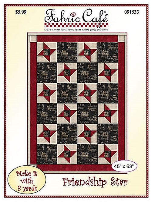 Fabric Cafe Pattern - Friendship Star - 091533