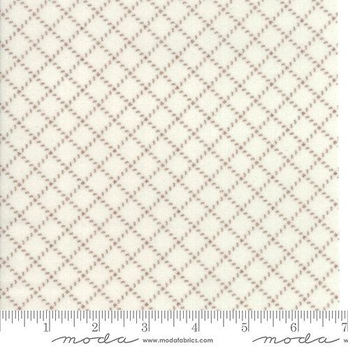 Farmhouse Flannels II by Moda - Cream Toast 549105F-17