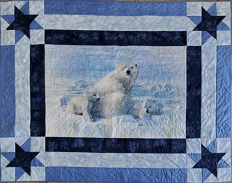 Polar Bear Quilt Kit